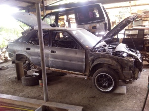 ae92 corolla liftback body repair 1