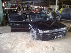 ae92 corolla liftback coumpound finishing