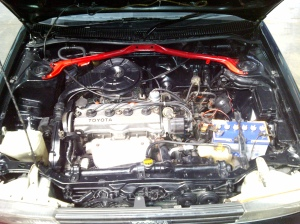 ae92 corolla liftback engine bay 2